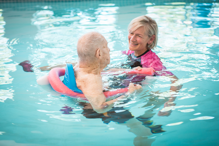 Episcopal Homes Active living warm water therapy