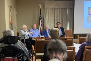 Episcopal Homes residents organize panel discussion opposing sections of House File 2414