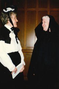 Rev. Irma Wyman Dresses Up