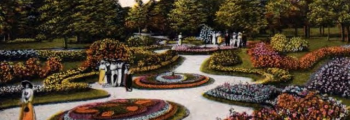 The Como Park Flower Show sent cut flowers to the Home.