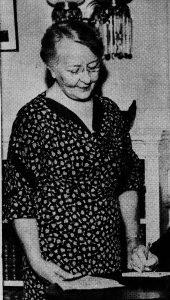 Mrs. Eliza Leigh