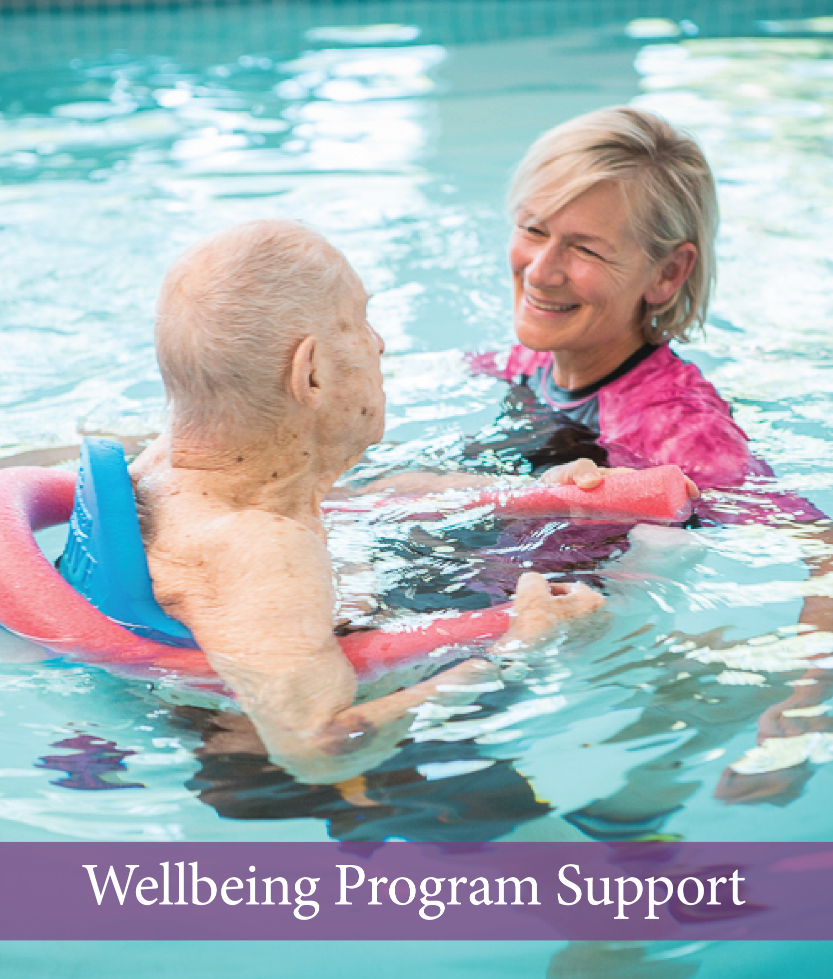 Episcopal home wellbeing program support