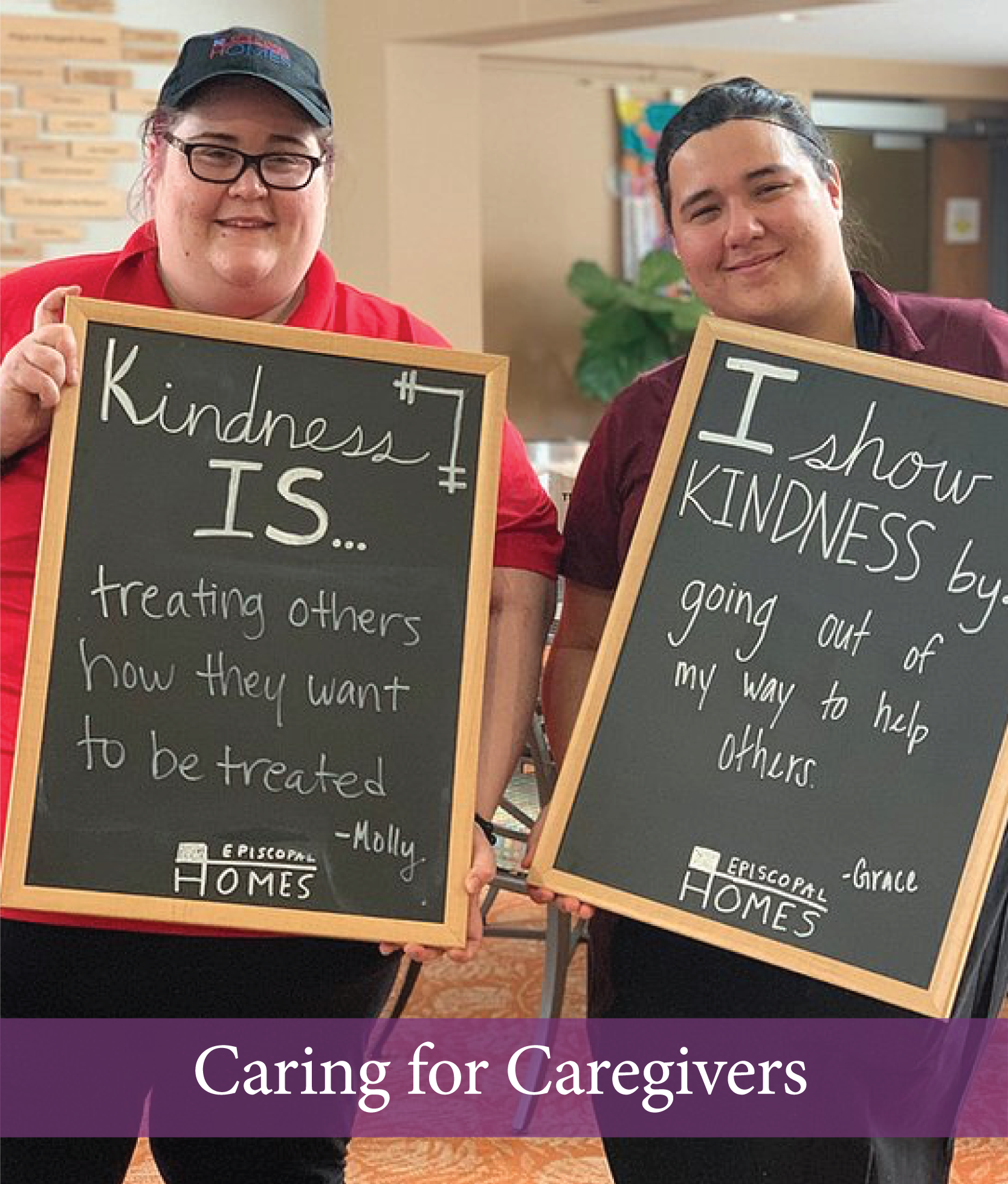 Episcopal Homes caring for caregivers