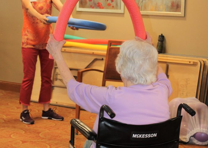 Group Exercise Returns to Episcopal Homes St. Paul